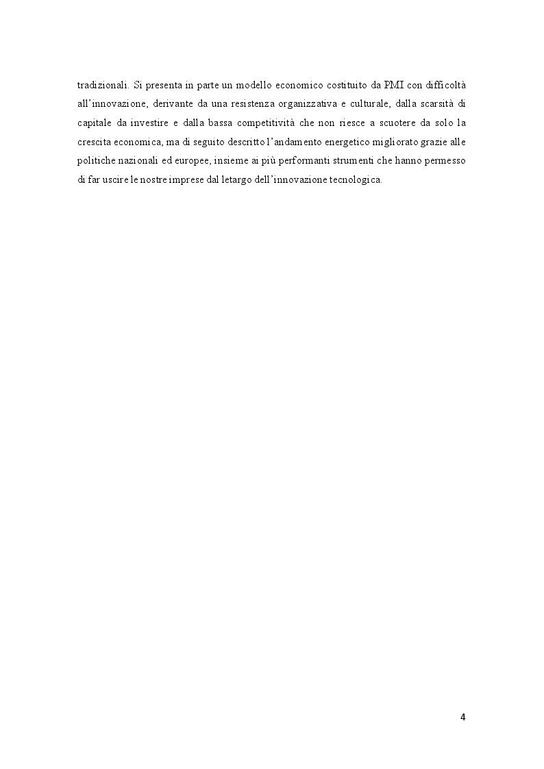 Anteprima della tesi: Efficienza energetica nazionale e strumenti incentivanti: un quadro di sintesi della situazione italiana, Pagina 3