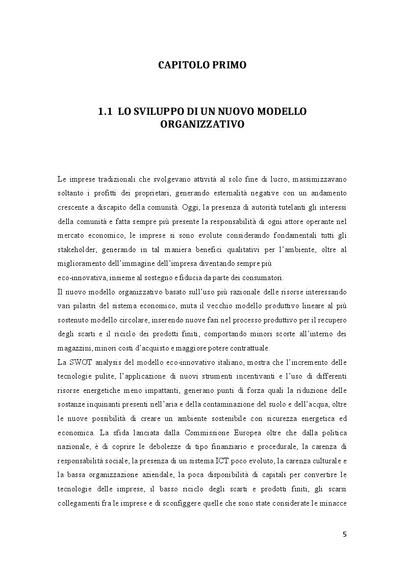 Anteprima della tesi: Efficienza energetica nazionale e strumenti incentivanti: un quadro di sintesi della situazione italiana, Pagina 4