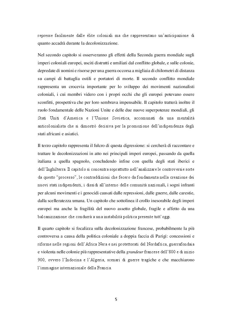 Anteprima della tesi: La decolonizzazione globale, Pagina 3
