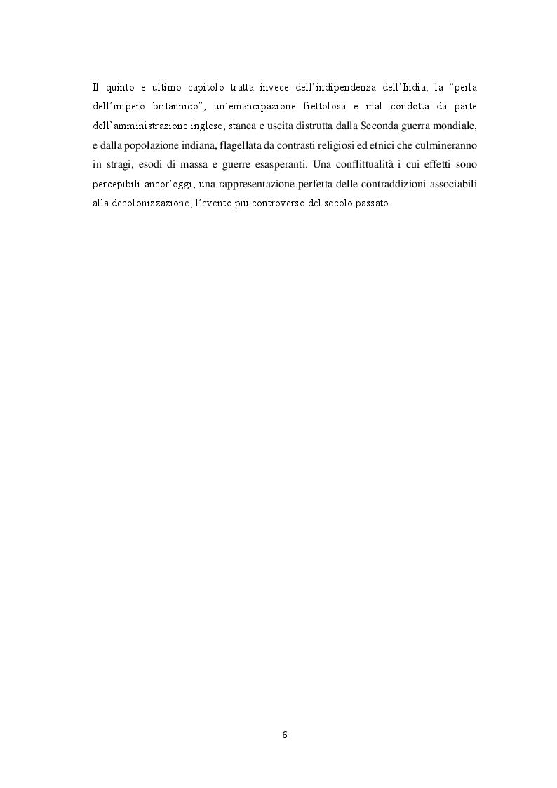 Anteprima della tesi: La decolonizzazione globale, Pagina 4