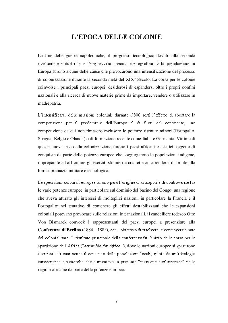 Anteprima della tesi: La decolonizzazione globale, Pagina 5