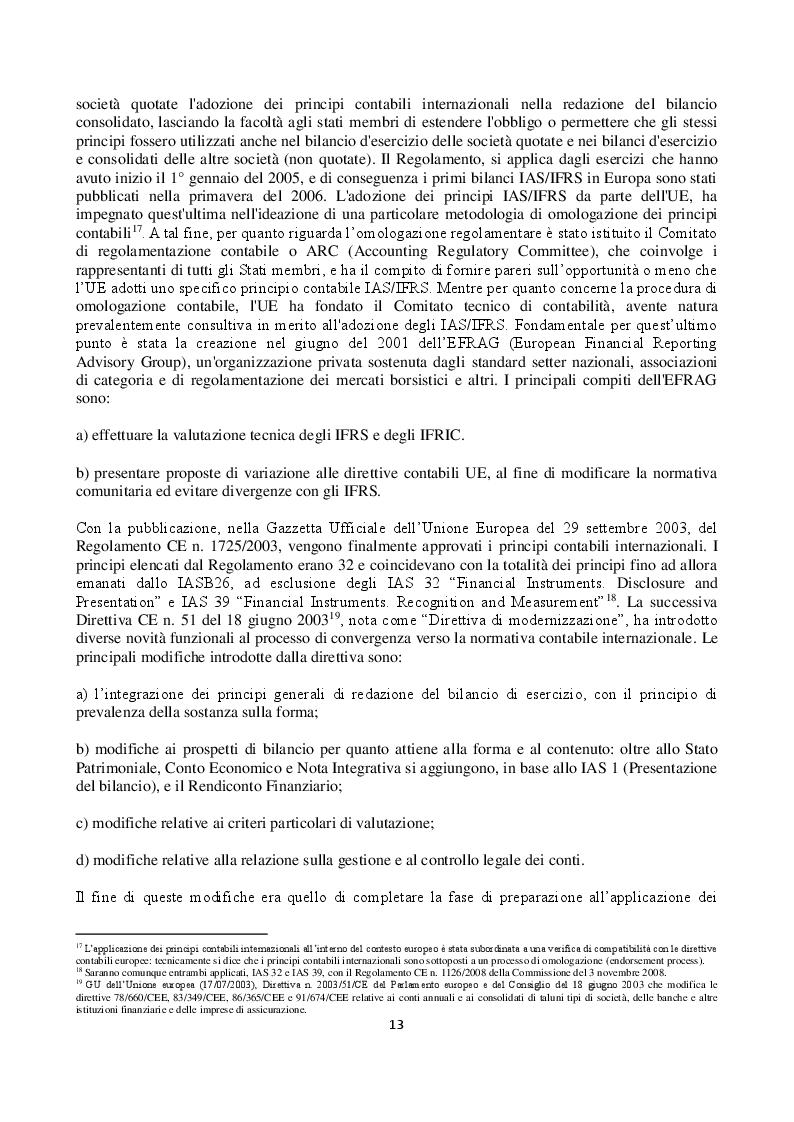 Anteprima della tesi: L'impairment test dei diritti pluriennali alle prestazioni sportive dei calciatori nei principali club europei quotati in borsa, Pagina 6