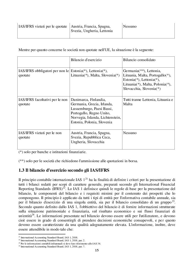 Anteprima della tesi: L'impairment test dei diritti pluriennali alle prestazioni sportive dei calciatori nei principali club europei quotati in borsa, Pagina 8