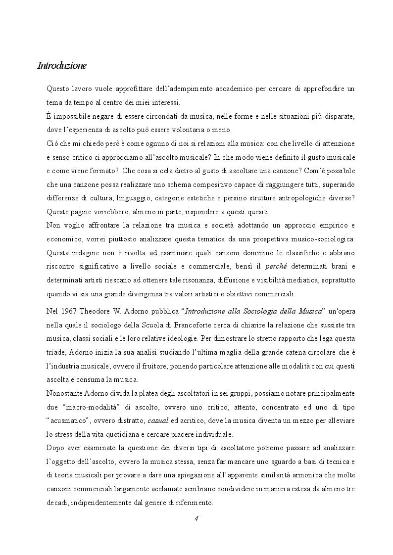 Anteprima della tesi: Musica e società: le tecniche musicali e le pratiche di ascolto nell'era dell'industria culturale, Pagina 2