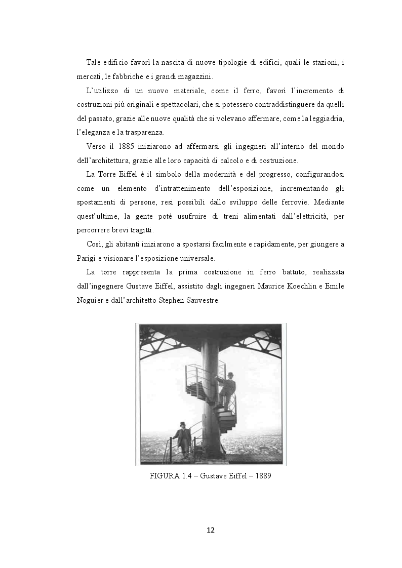 Anteprima della tesi: La seconda rivoluzione industriale e commerciale: l'avvento e la trasformazione dei grandi magazzini, Pagina 10