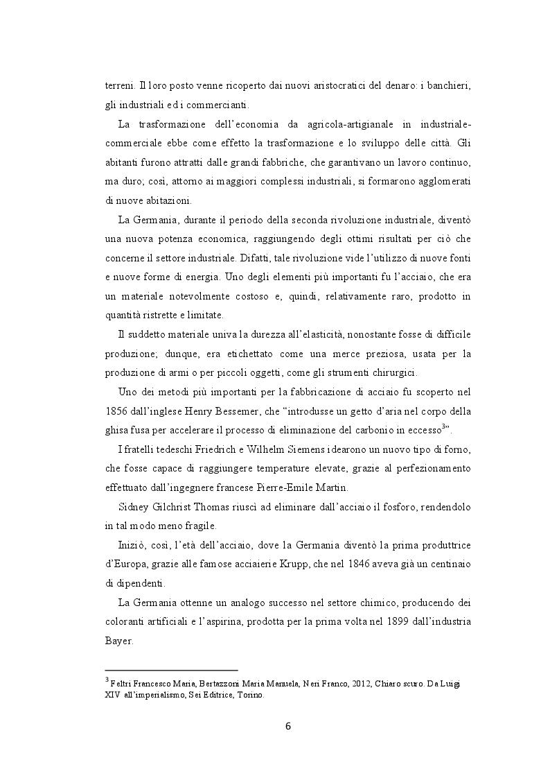 Anteprima della tesi: La seconda rivoluzione industriale e commerciale: l'avvento e la trasformazione dei grandi magazzini, Pagina 4