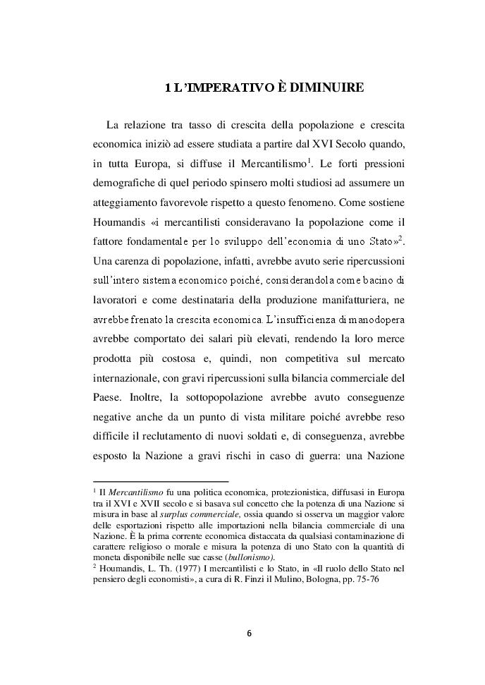 Anteprima della tesi: Demografia e crescita economica. Evidenze empiriche e politiche pubbliche in Nigeria, Pagina 4