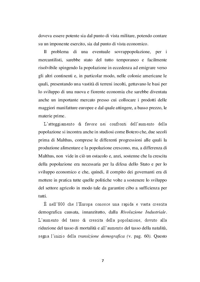 Anteprima della tesi: Demografia e crescita economica. Evidenze empiriche e politiche pubbliche in Nigeria, Pagina 5