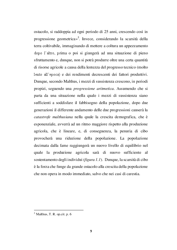 Anteprima della tesi: Demografia e crescita economica. Evidenze empiriche e politiche pubbliche in Nigeria, Pagina 7
