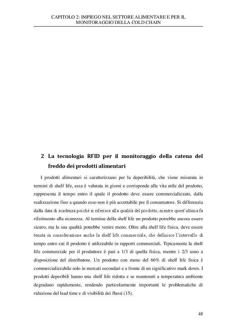 Anteprima della tesi: Analisi sperimentale dei dati di trasporto nella catena del freddo di un'azienda della grande distribuzione, Pagina 2