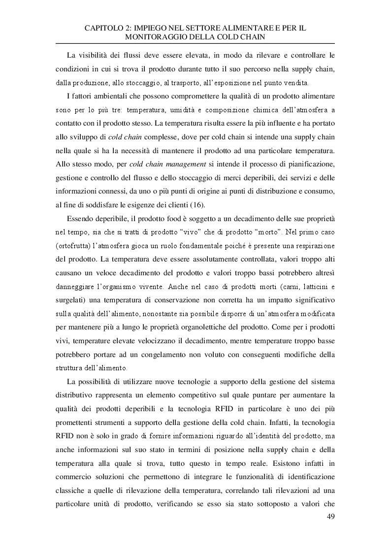 Anteprima della tesi: Analisi sperimentale dei dati di trasporto nella catena del freddo di un'azienda della grande distribuzione, Pagina 3