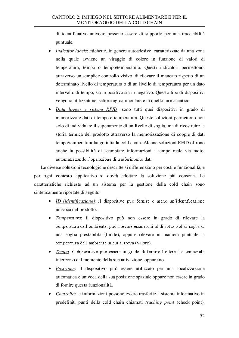 Anteprima della tesi: Analisi sperimentale dei dati di trasporto nella catena del freddo di un'azienda della grande distribuzione, Pagina 6