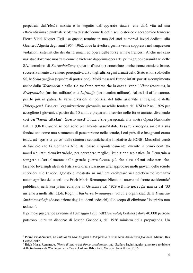 Anteprima della tesi: Leni Riefenstahl e l'estetica nazionalsocialista, Pagina 3