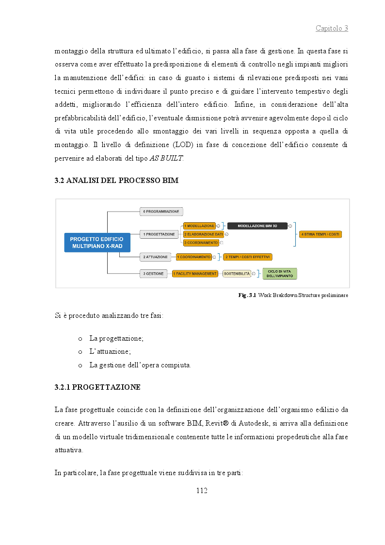 Anteprima della tesi: La gestione del cantiere di un edificio multipiano in legno con tecnologia X-RAD attraverso l'utilizzo del BIM, Pagina 3