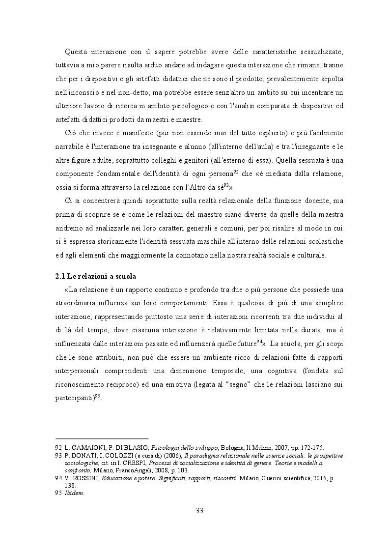 Anteprima della tesi: Il maestro. Ragioni, risorse, specificità e percezioni di una minoranza, Pagina 3