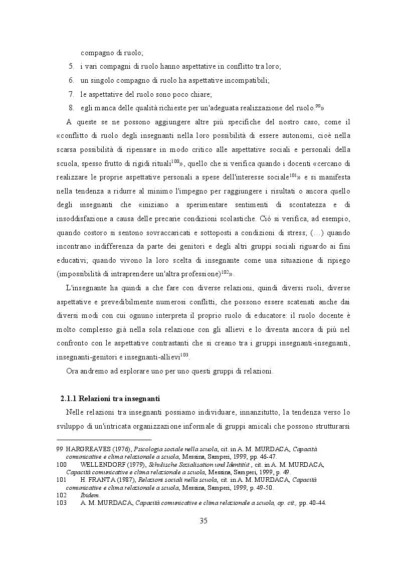 Anteprima della tesi: Il maestro. Ragioni, risorse, specificità e percezioni di una minoranza, Pagina 5