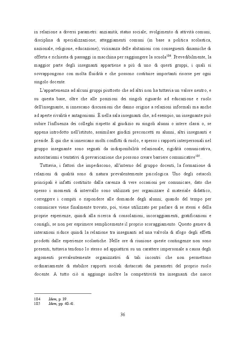 Anteprima della tesi: Il maestro. Ragioni, risorse, specificità e percezioni di una minoranza, Pagina 6