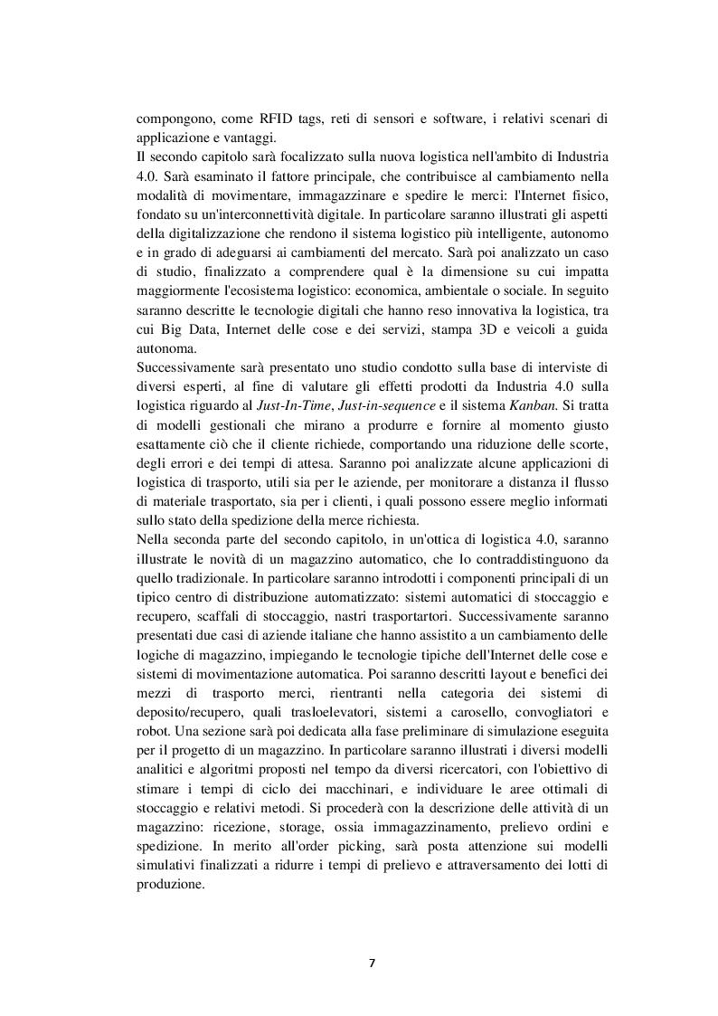Anteprima della tesi: I veicoli a guida autonoma per la logistica di Industria 4.0, Pagina 3