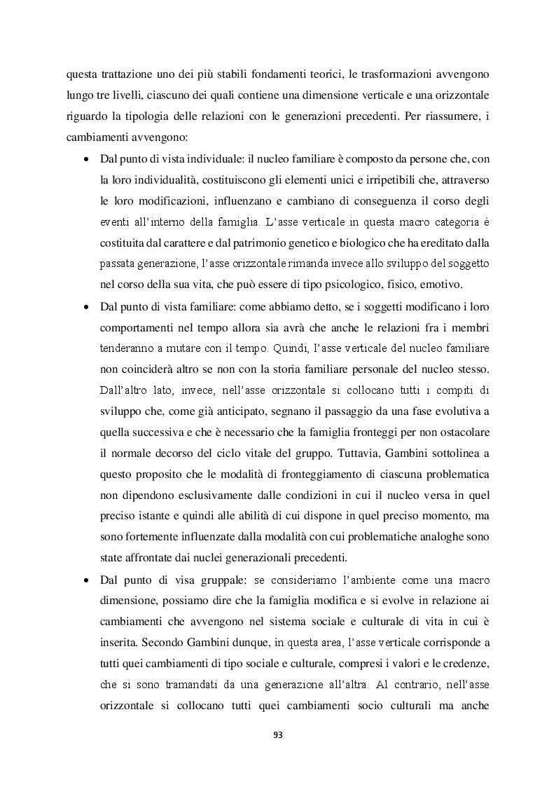 Anteprima della tesi: Genitorialità in situazioni di rischio: genesi, caratteristiche delle dipendenze patologiche e il ruolo nella compromissione delle funzioni genitoriali, Pagina 4