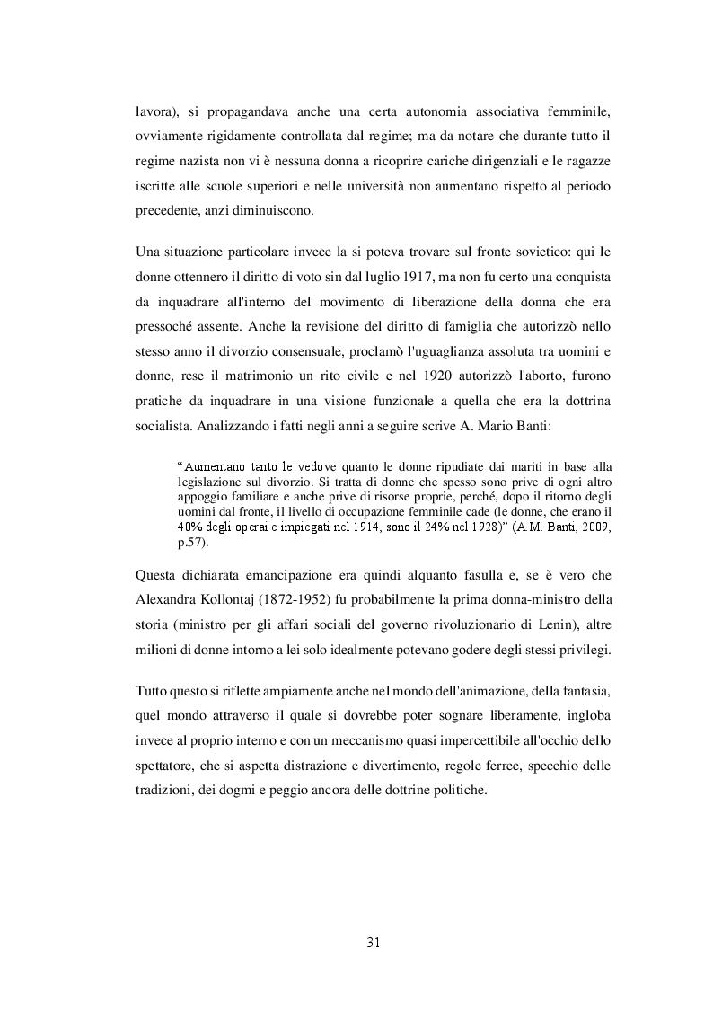 Anteprima della tesi: La costruzione impari del genere 'donna' attraverso la performatività delle immagini: modelli e stereotipi nel mondo televisivo italiano, Pagina 7