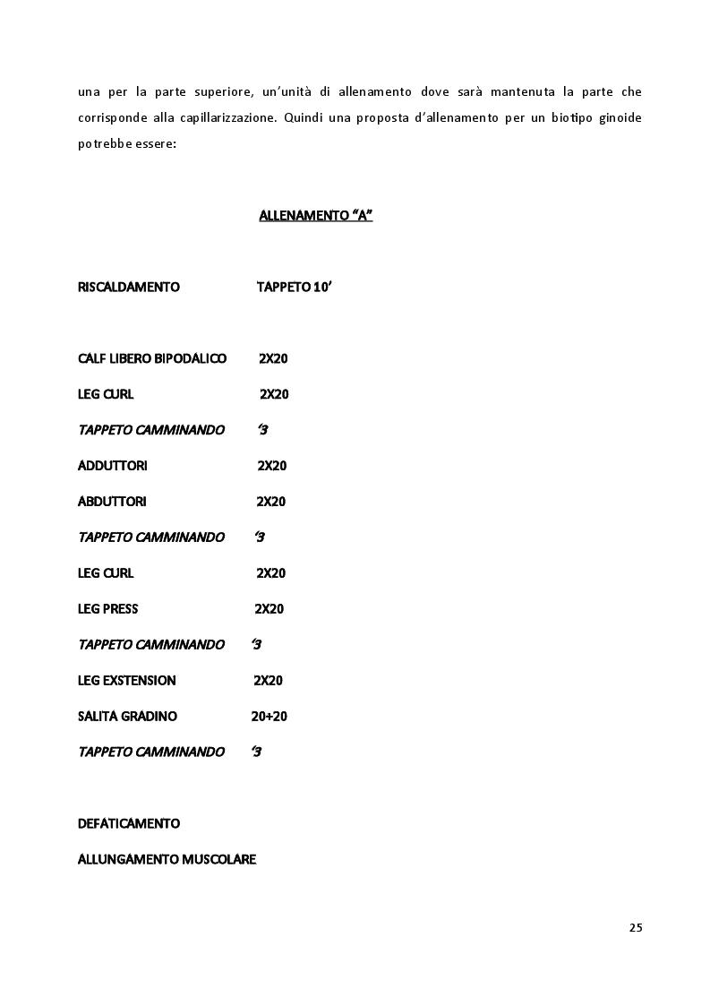 Anteprima della tesi: I biotipi costituzionali, la progettazione di un allenamento, Pagina 4