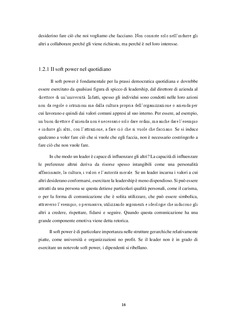 Anteprima della tesi: Il soft power: il caso Stati Uniti e Cina, Pagina 5