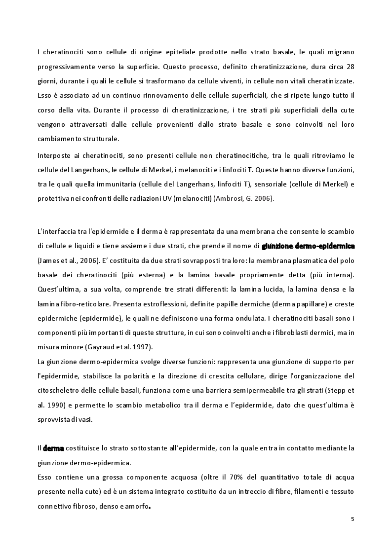 Anteprima della tesi: Sviluppo di formulazioni anti-ageing: focus su Argirelina (Acetil-esapeptide-8), Pagina 4