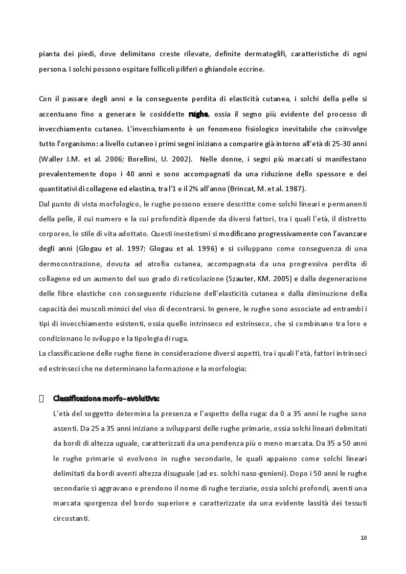 Anteprima della tesi: Sviluppo di formulazioni anti-ageing: focus su Argirelina (Acetil-esapeptide-8), Pagina 9