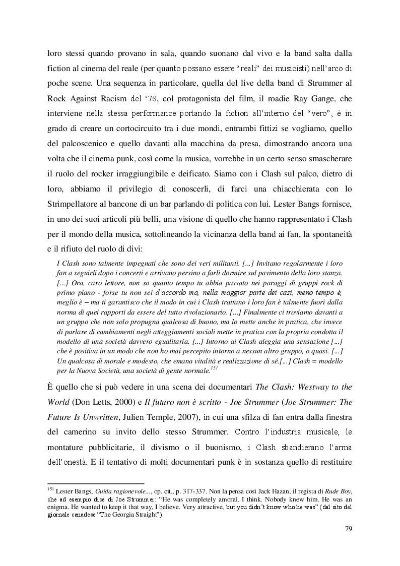 Anteprima della tesi: Odio i Pink Floyd - il punk inglese in un pugno di documentari, Pagina 10