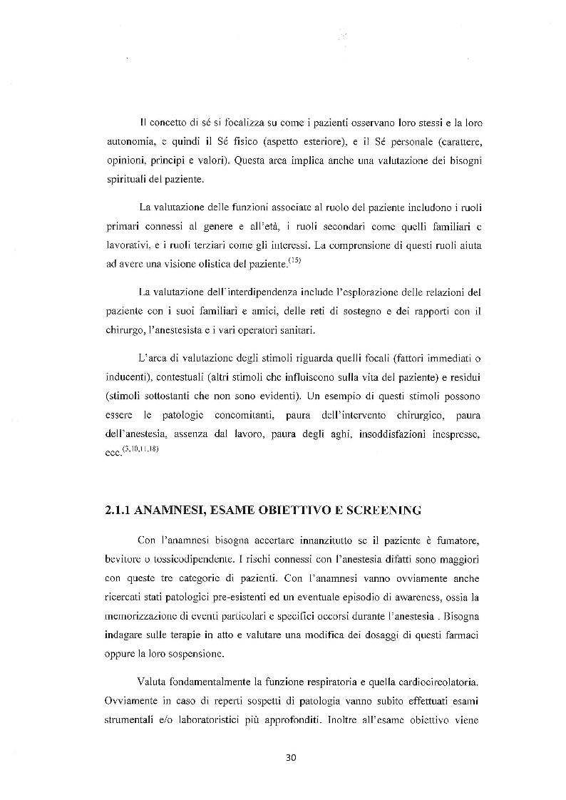 Anteprima della tesi: Assistenza infermieristica al paziente in sala operatoria, Pagina 3