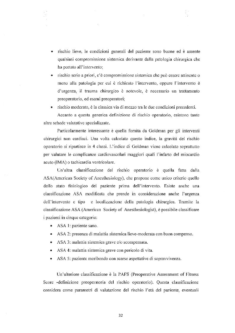 Anteprima della tesi: Assistenza infermieristica al paziente in sala operatoria, Pagina 5