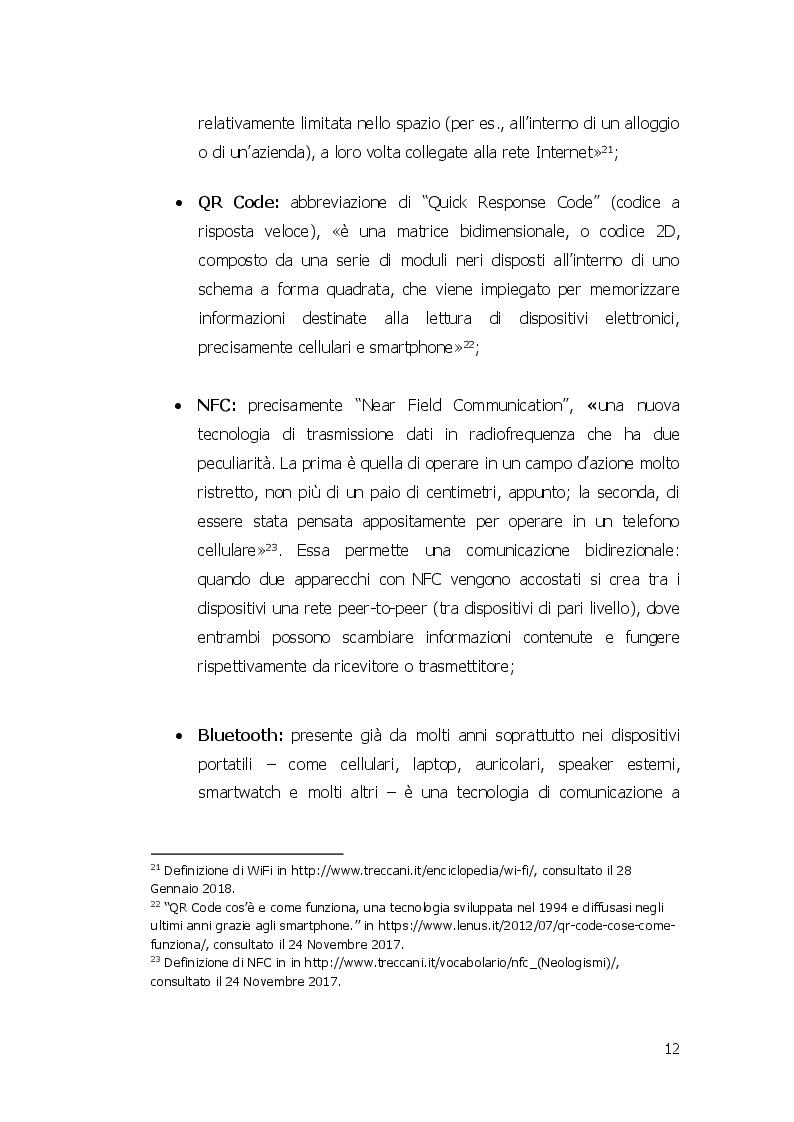 Anteprima della tesi: Beacon e Smart Tourism: il progetto ''Todi Città Parlante'', Pagina 8