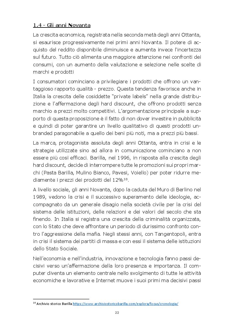 Estratto dalla tesi: Evoluzione della comunicazione pubblicitaria del settore automobilistico in Italia dagli anni Settanta ad oggi