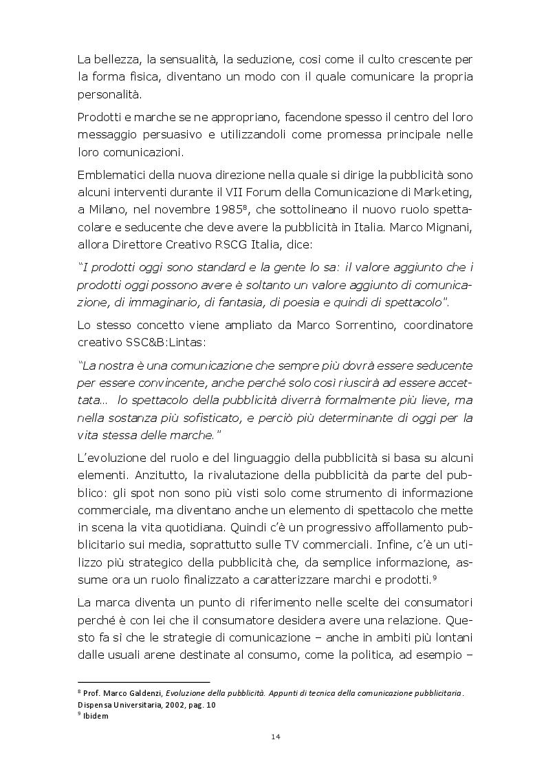 Anteprima della tesi: Evoluzione della comunicazione pubblicitaria del settore automobilistico in Italia dagli anni Settanta ad oggi, Pagina 11