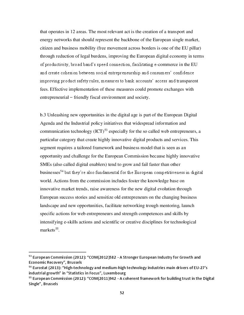 Anteprima della tesi: European regulations and policies on small and medium size enterprises, Pagina 8