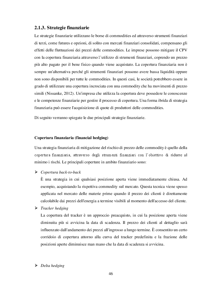Anteprima della tesi: La gestione del commodity price risk e del supplier default risk: il punto di vista della supply chain, Pagina 5
