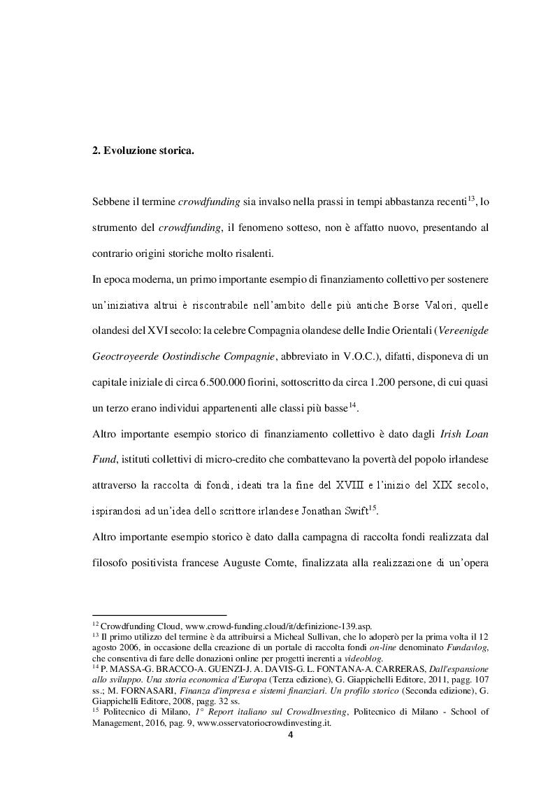 Anteprima della tesi: Equity-crowdfunding: evoluzione normativa e quali-quantitativa, Pagina 2