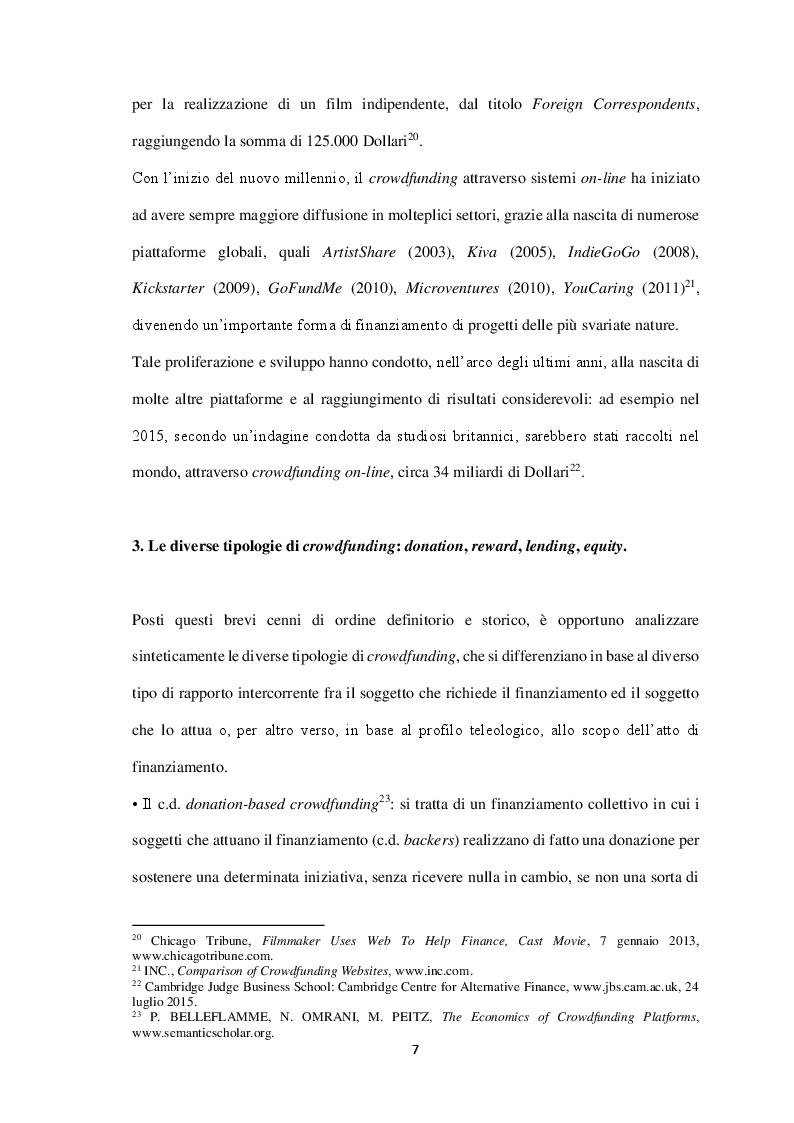 Anteprima della tesi: Equity-crowdfunding: evoluzione normativa e quali-quantitativa, Pagina 5