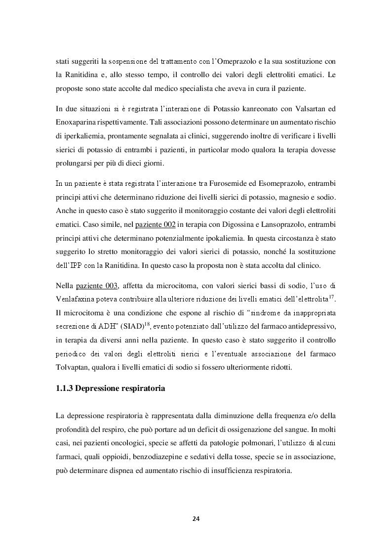 Anteprima della tesi: Riconciliazione della terapia Farmacologica in oncologia: esperienza dell'I.R.C.C.S. Istituto Tumori Bari, Pagina 9
