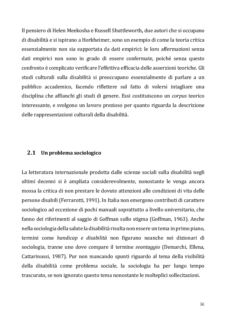 Anteprima della tesi: Le tecnologie dell'informazione e della comunicazione come opportunità per l'inclusione dei disabili – Il Digital divide e il ruolo delle tecnologie assistive, Pagina 4
