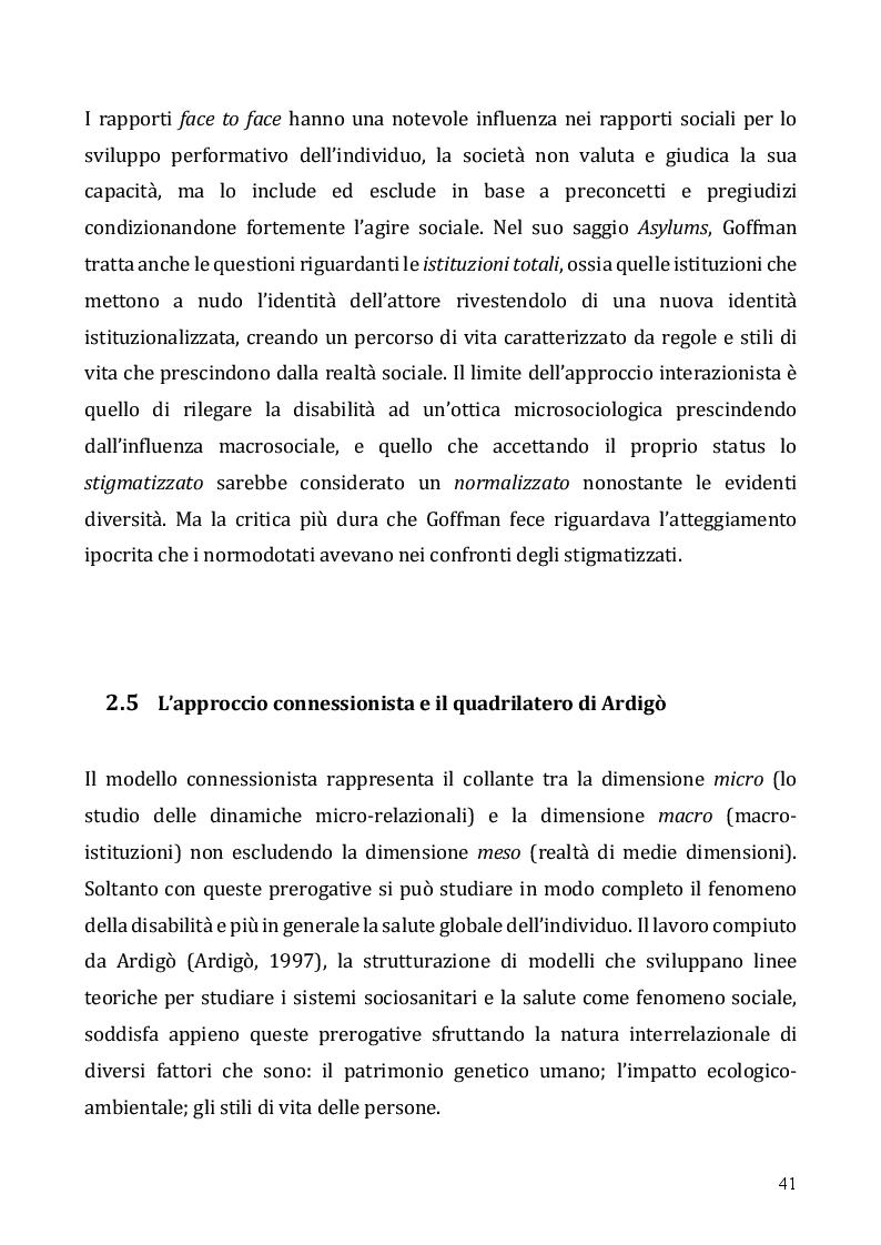 Anteprima della tesi: Le tecnologie dell'informazione e della comunicazione come opportunità per l'inclusione dei disabili – Il Digital divide e il ruolo delle tecnologie assistive, Pagina 9