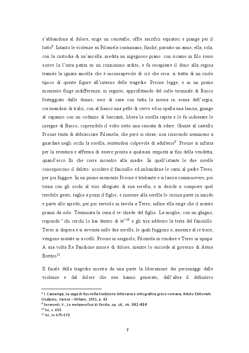 Anteprima della tesi: La rondine e l'usignolo, Pagina 6