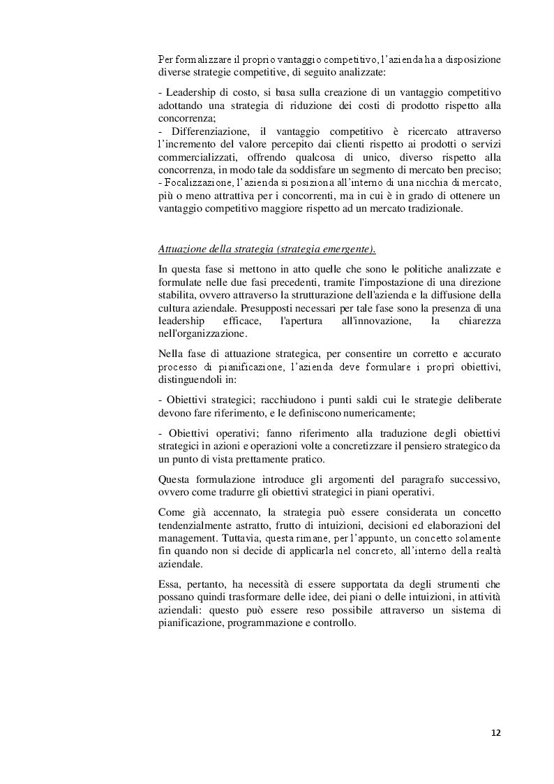 Estratto dalla tesi: Strategia e pianificazione aziendale. Il caso Air Italy