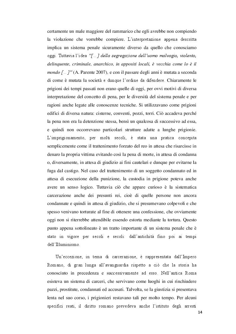 Anteprima della tesi: Il governo delle carceri. Organizzazione e funzioni dell'Amministrazione Penitenziaria., Pagina 10