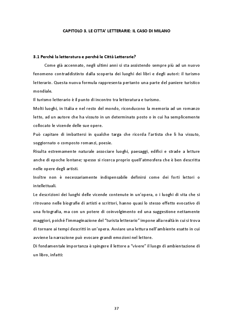 """Anteprima della tesi: The Unesco Creative Cities Network: il caso di Milano """"città letteraria"""" 2017, Pagina 2"""