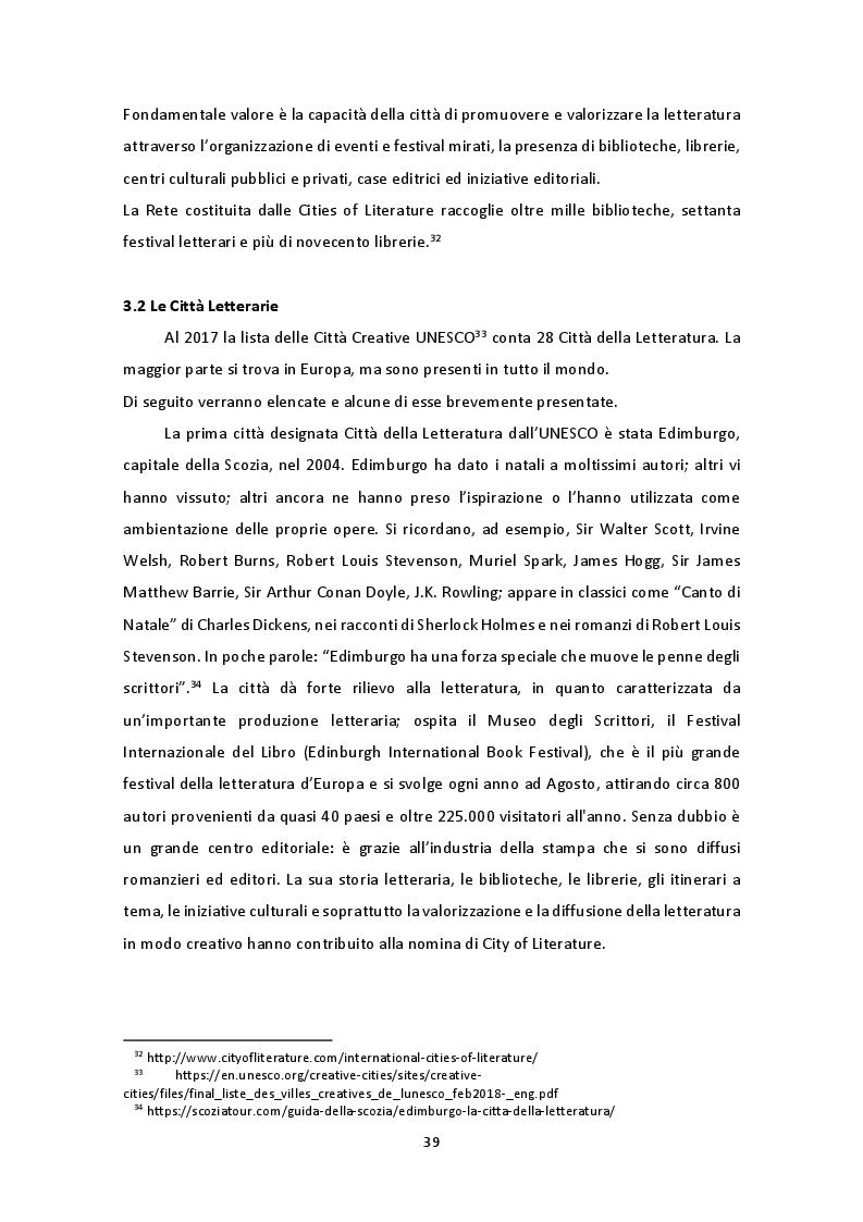 """Anteprima della tesi: The Unesco Creative Cities Network: il caso di Milano """"città letteraria"""" 2017, Pagina 4"""