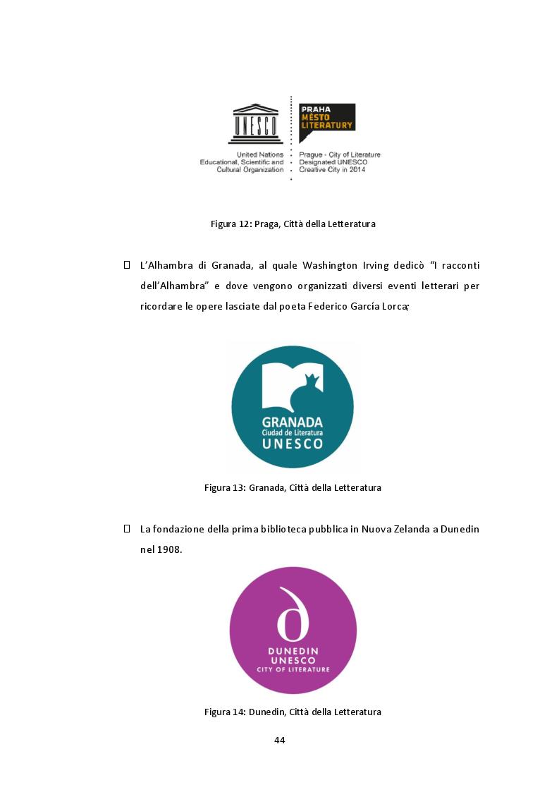 """Anteprima della tesi: The Unesco Creative Cities Network: il caso di Milano """"città letteraria"""" 2017, Pagina 9"""