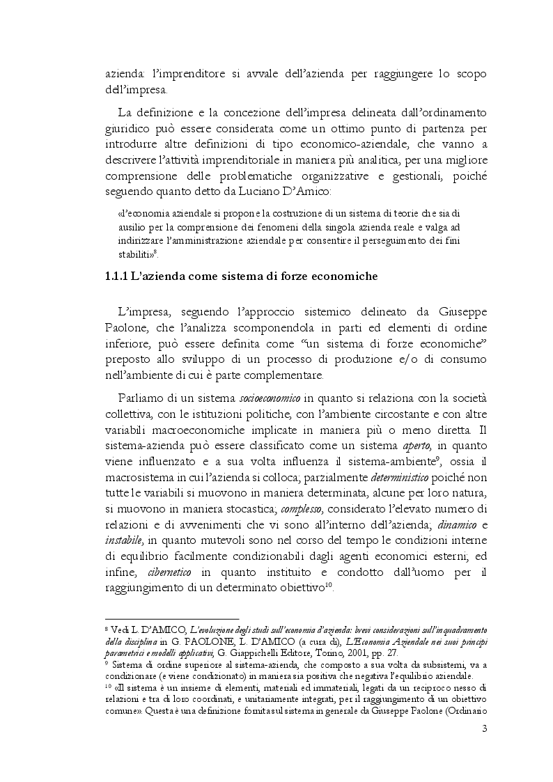 Anteprima della tesi: Startup, l'importanza strategica del business plan, Pagina 6