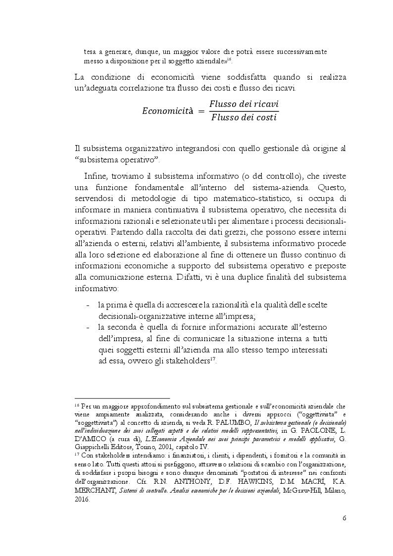 Anteprima della tesi: Startup, l'importanza strategica del business plan, Pagina 9