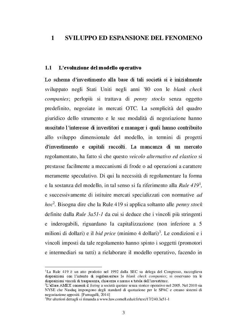 Anteprima della tesi: La SPAC: un veicolo innovativo nel sistema finanziario italiano, Pagina 4